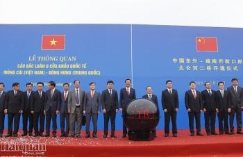 Sáng nay chính thức thông quan cầu Bắc Luân II, Móng Cái, Quảng Ninh