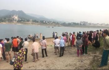 8 học sinh Hòa Bình đuối nước thương tâm khi đi tắm ở Sông Đà