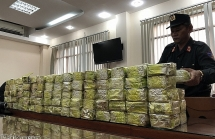 khoi to 4 doi tuong trong duong day mua ban van chuyen hon 500kg ma tuy