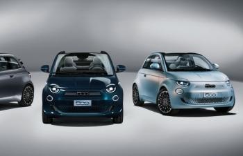 """""""Cuộc chiến"""" cân sức giữa Fiat 500e mới và Honda E"""