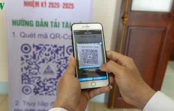 Đại hội Đảng cơ sở đầu tiên ở Lào Cai ứng dụng 4.0 không giấy tờ