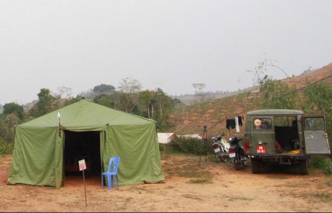 Theo chân bộ đội biên phòng chặn dịch Covid-19 nơi biên giới Sơn La