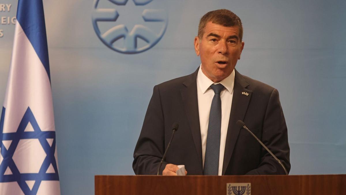 Ngoại trưởng Israel Ashkenazi. Ảnh: Axios