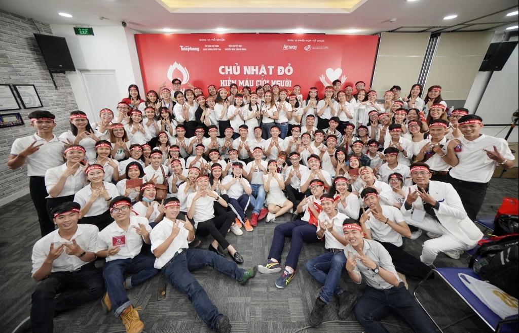 AMWAY Việt Nam tiếp tục đồng hành cùng chương trình hiến máu Chủ nhật đỏ lần XIII