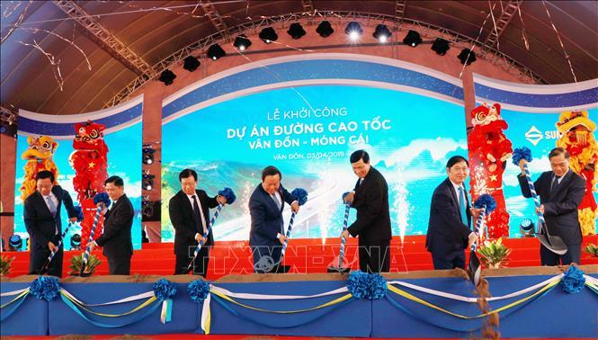 khoi cong duong cao toc van don mong cai