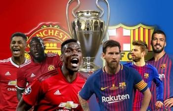 """Đội hình """"siêu tấn công"""" giúp Barca đả bại MU ở Old Trafford?"""