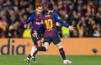 Lionel Messi lập cú đúp, Barca dễ dàng đả bại MU