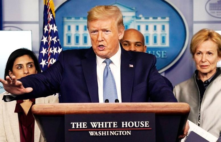 """Tổng thống Trump tin Mỹ sẽ vượt qua """"tuần lễ khủng khiếp nhất"""" của đại dịch Covid-19"""