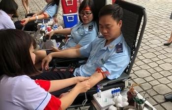 Bộ trưởng Bộ Tài chính kêu gọi cán bộ toàn Ngành hiến máu tình nguyện