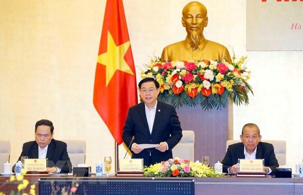 Chủ tịch Quốc hội chủ trì Phiên họp thứ 5 Hội đồng Bầu cử Quốc gia