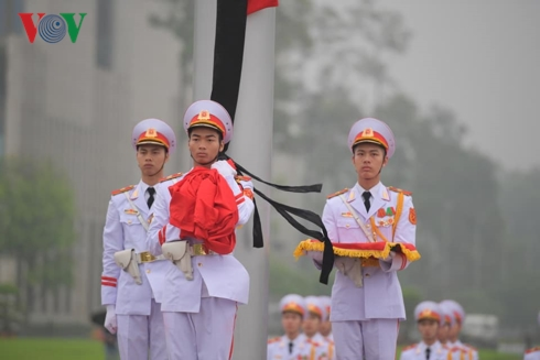 photos co ru quoc tang nguyen chu tich nuoc le duc anh tai ba dinh