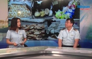 Ông Nguyễn Phi Hùng - Cục trưởng Cục Điều tra chống buôn lậu, TCHQ trả lời phỏng vấn về công tác chống buôn lậu ma túy