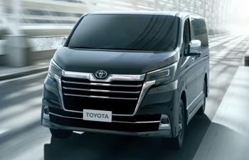 Khám phá Toyota Granvia 8 chỗ vừa ra mắt thị trường