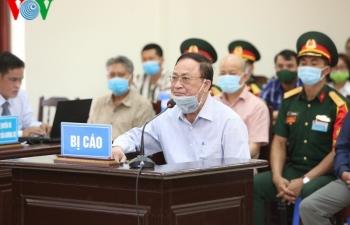 """Bị cáo Nguyễn Văn Hiến: """"Các cơ quan cấp dưới tham mưu sai cho tôi"""""""