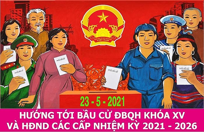 Bầu cử ĐB Quốc hội khóa XV và HĐND các cấp 2021-2026