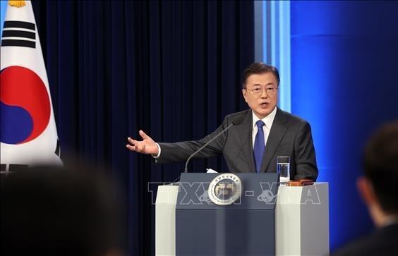 Tổng thống Hàn Quốc sẽ nhấn mạnh vấn đề vaccine trong chuyến thăm Mỹ