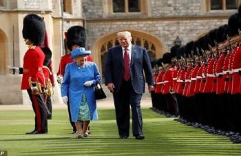 """Tổng thống Mỹ Trump thăm Anh với """"mũi tên"""" hướng về Trung Quốc"""