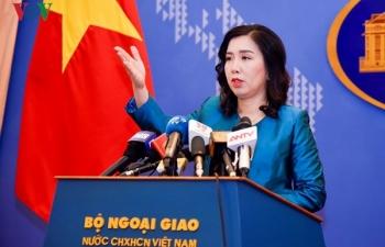 Việt Nam trao công hàm cho Singapore về phát biểu của Thủ tướng Lý Hiển Long