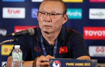 HLV Park Hang Seo nói điều bất ngờ trước trận chung kết King's Cup