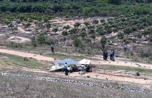 Hiện trường vụ rơi máy bay quân sự ở Khánh Hòa, 2 chiến sĩ hy sinh