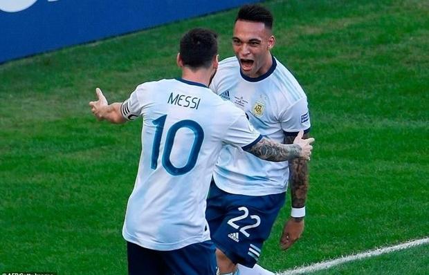 copa america thang de venezuela argentina hen dai chien voi brazil