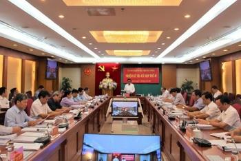 Toàn văn thông cáo báo chí phiên họp 45 của Ủy ban Kiểm tra Trung ương