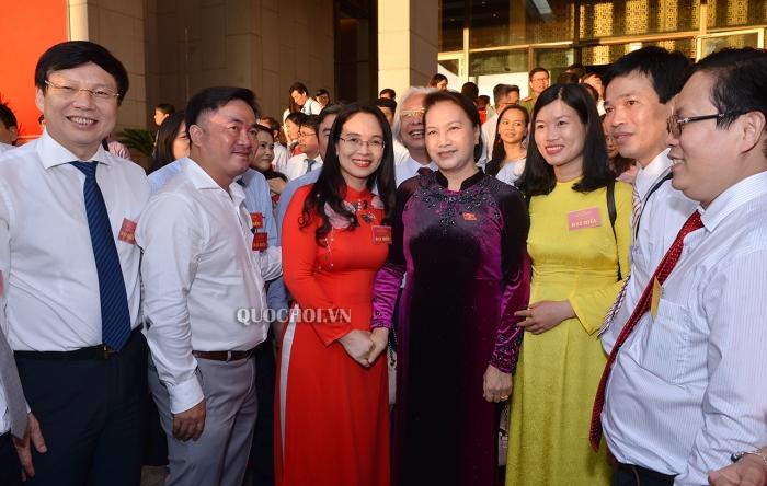 Chủ tịch Quốc hội Nguyễn Thị Kim Ngân gặp mặt Đoàn đại biểu người làm báo tiêu biểu