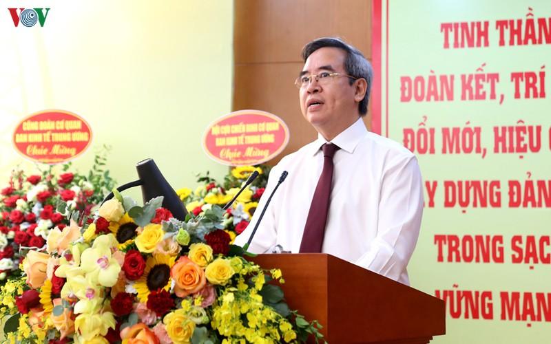 dai hoi dang bo ban kinh te trung uong lan thu ii nhiem ky 2020 2025