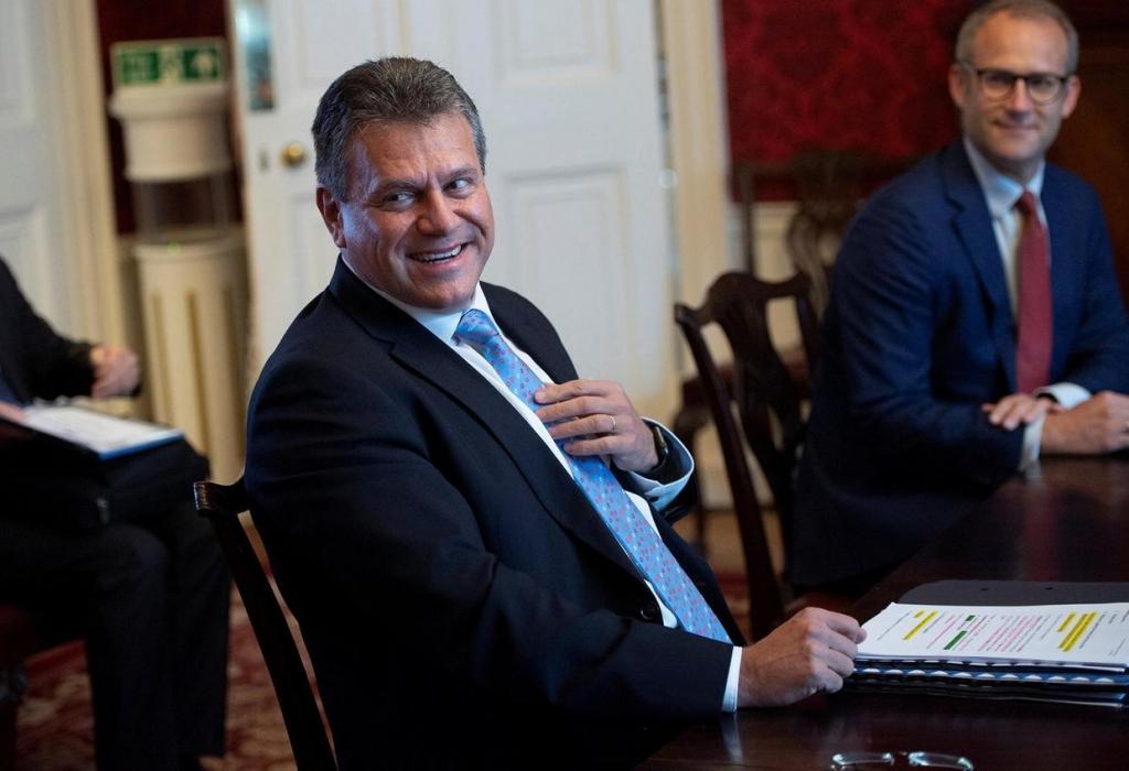 Cao uỷ phụ trách vấn đề Brexit của Liên minh Châu Âu (EU) ôngMaros Sefcovic
