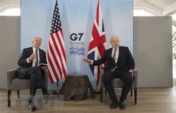 Hội nghị thượng đỉnh G7 thảo luận nhiều vấn đề nóng trên toàn cầu