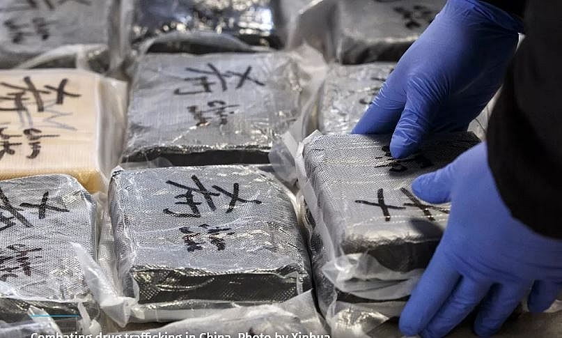Hải quan Trung Quốc thu giữ hơn 215 kg cocaine