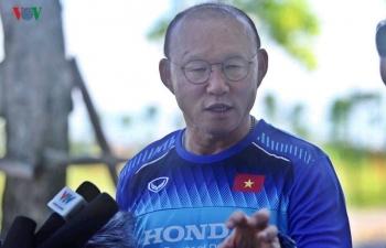 HLV Park Hang Seo tiết lộ về việc gia hạn hợp đồng với VFF