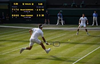 Thắng kịch tính Federer, Djokovic lần thứ năm vô địch Wimbledon
