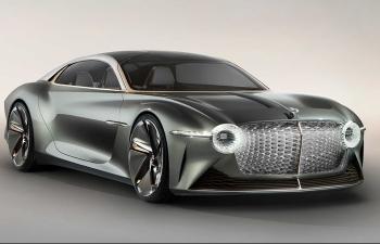 Ngắm nhìn Bentley EXP 100 GT đến từ tương lai