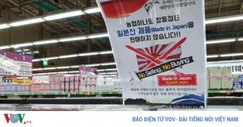 Căng thẳng Nhât Bản - Hàn Quốc leo thang trên mọi