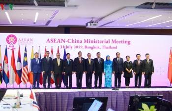 Ngoại trưởng ASEAN-Trung Quốc trao đổi thẳng thắn tình hình Biển Đông