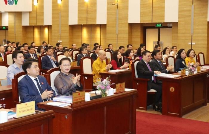 Chủ tịch Quốc hội đề nghị HĐND TP Hà Nội giám sát những vấn đề quan trọng