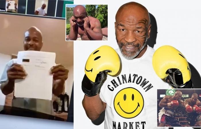 Mike Tyson tái xuất ở tuổi 54, xỏ găng thượng đài vào tháng 9 tới
