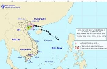 Bão số 3 suy yếu thành áp thấp nhiệt đới, gây mưa lớn trên diện rộng