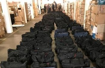 Hải quan Đức bắt giữ lượng cocaine kỷ lục, gần 5 tấn