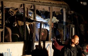 Nổ xe kinh hoàng tại Ai Cập, gần 50 người thương vong