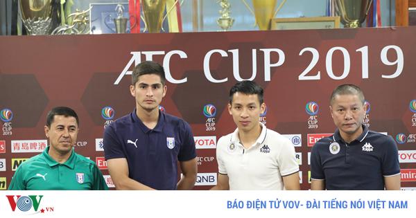 afc cup 2019 ha noi fc viet su cho bong da viet nam