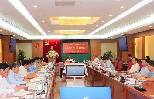 Toàn văn Thông cáo báo chí kỳ họp 47 của Ủy ban Kiểm tra Trung ương