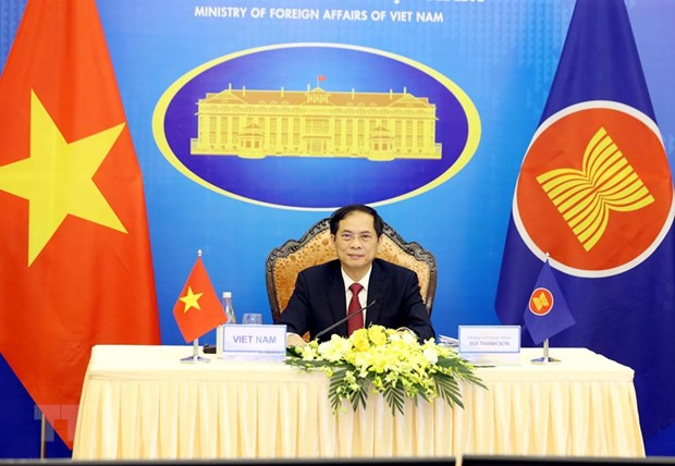 Chinh thuc khai mac Hoi nghi Bo truong Ngoai giao ASEAN lan thu 54 hinh anh 1