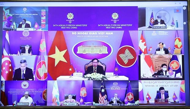 Chinh thuc khai mac Hoi nghi Bo truong Ngoai giao ASEAN lan thu 54 hinh anh 2