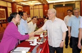 Nguyên lãnh đạo Đảng, Nhà nước góp ý Dự thảo văn kiện Đại hội XIII