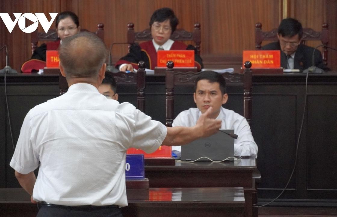 Bị cáo Nguyễn Thành Tài bật khóc khi nói lời sau cùng
