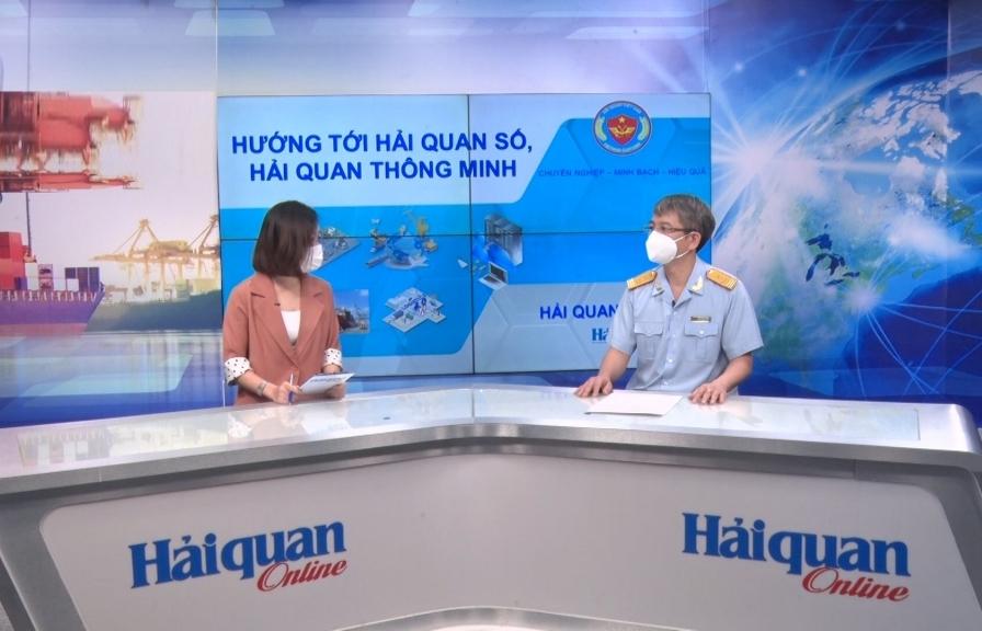Talk: Phó Tổng cục trưởng Mai Xuân Thành: Hướng tới hải quan số, hải quan thông minh