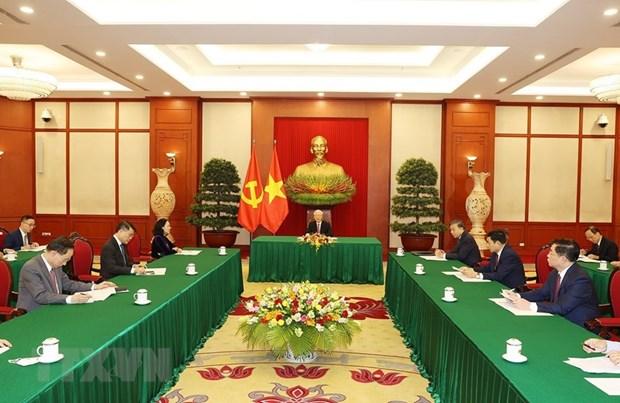 Viet Nam-Trung Quoc danh uu tien cao cho hop tac phong, chong COVID-19 hinh anh 1