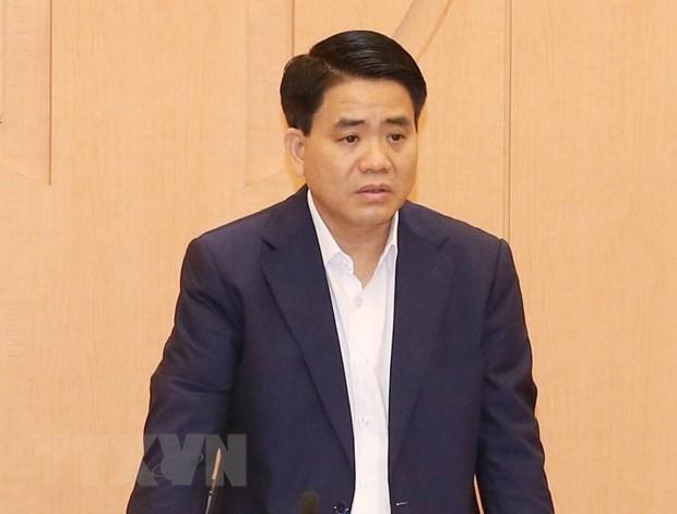 Truy to ong Nguyen Duc Chung trong vu mua che pham xu ly nuoc ho hinh anh 1
